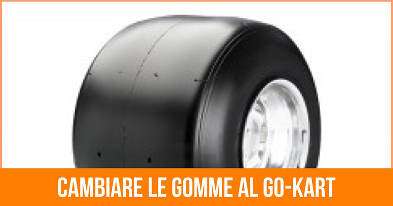Cambio gomme go kart