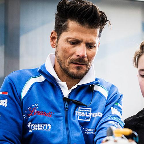 Alessandro Manetti Camoione del mondo kart