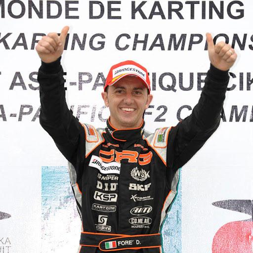 Davide Forè pilota campione del mondo Lonato